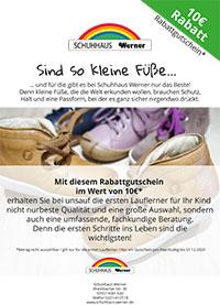 check out 3e1c1 37a0b Schuhhaus Werner - Kinderschuhe in Köln
